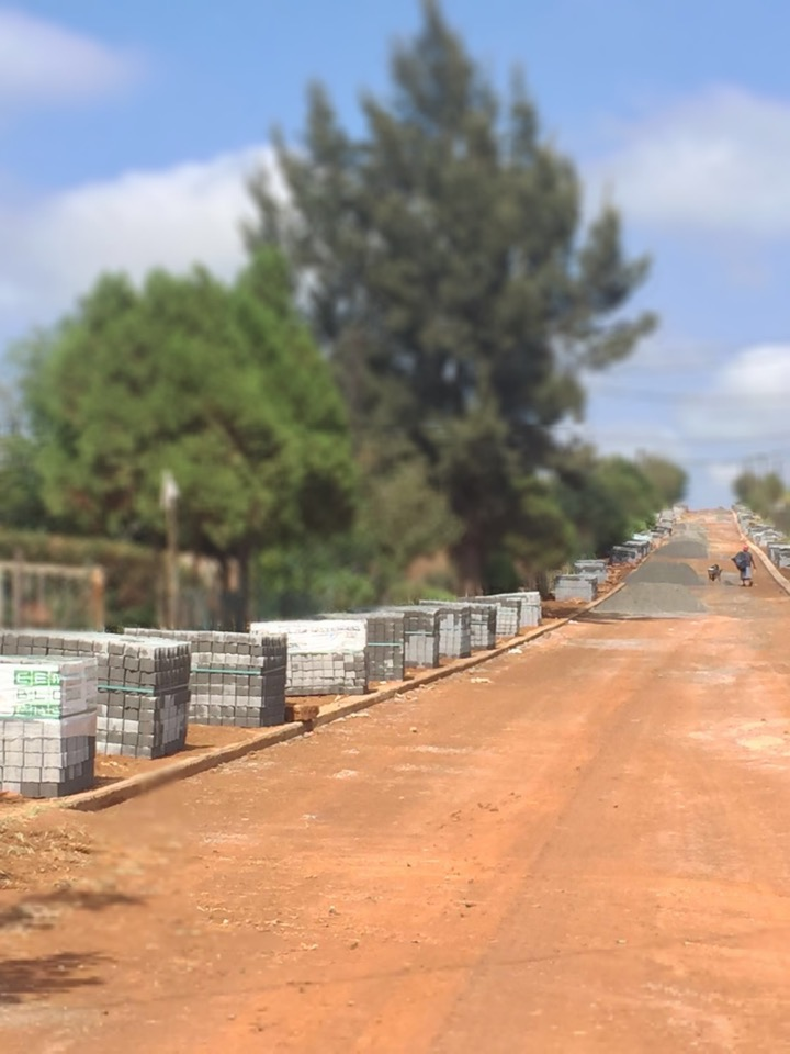 80mm Interlocking Pavers - Koster Regaile Kgetlengrivier Local Municipality
