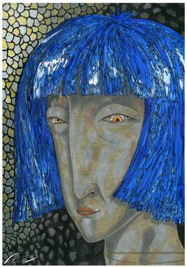 Woman with chain (Masha Postnikova)