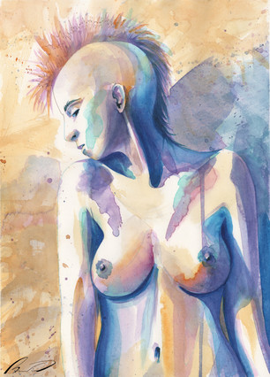 Girl with mohawk naked