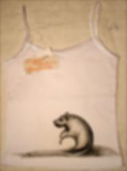зернодерево майка роспись по ткани
