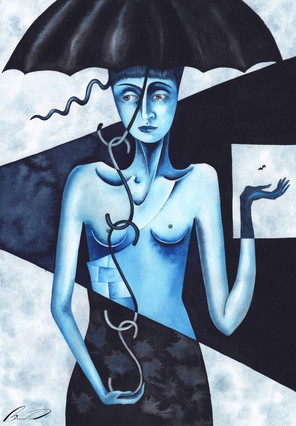 Blue Woman (I'm dust and ashes)