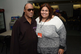 Stevie Wonder & Céline Peterson
