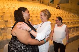 Céline & Sabine Lovatelli at Teatro L'Occitane in Trancoso, Bahia-Brazil (2017)