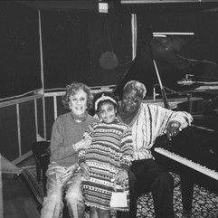 Céline with OP & Marian McPartland