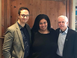 Ben Paterson, Céline Peterson, Dr. Dave Young