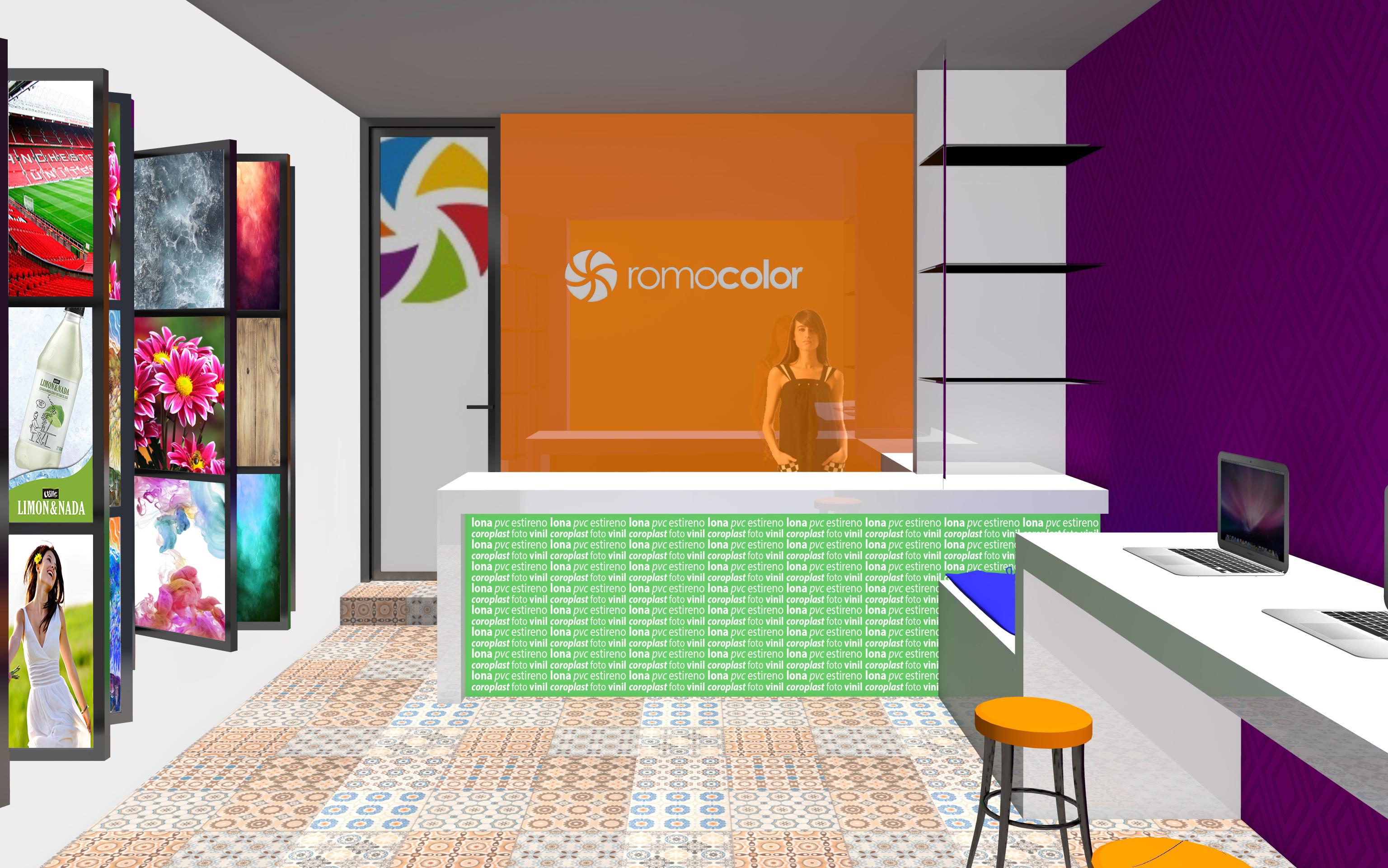 Anteproyecto Remodelación RomoColor
