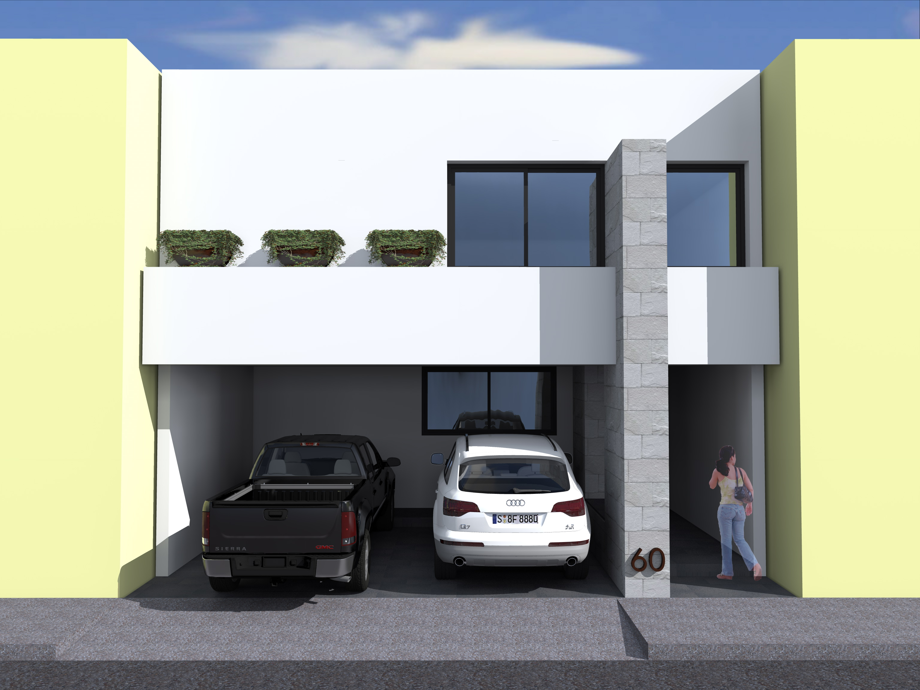 Anteproyecto A - Casa Cimazul