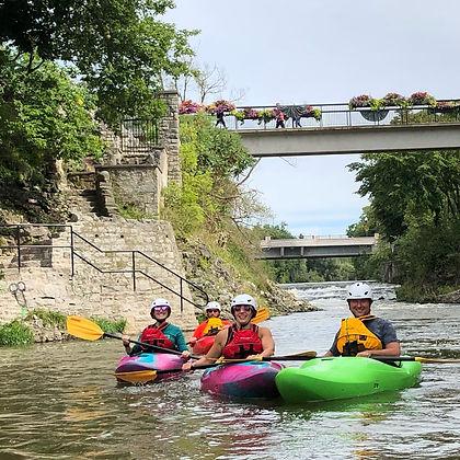 learn to kayak elora