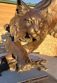 Bobcat Statue