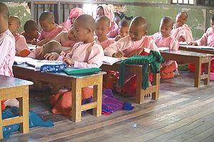Myanmar Kinder Schule