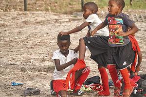 Südafrika Kinder Fussball