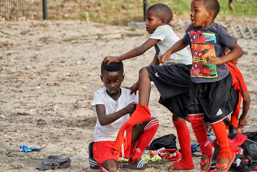 Südafrika Kinder