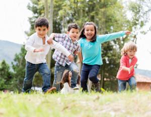 Kids Run and Play During Winter Break in Arizona