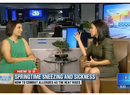 Coping With Springtime Sneezing and Sickness