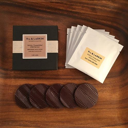 Tranquilidad Wild Harvest, BOLIVIA, 64% Cacao Cafe Latte