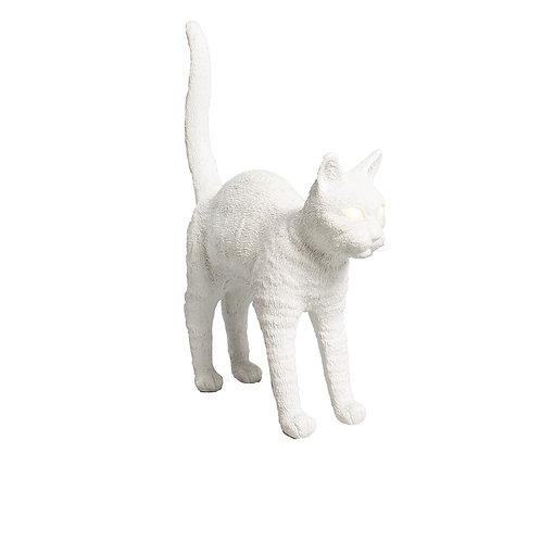 Lampe Chat Felix blanc