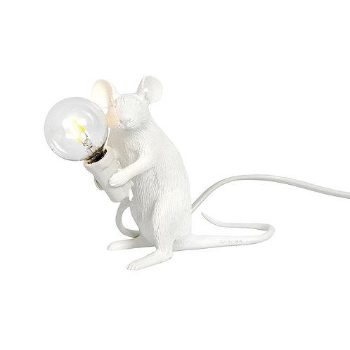 Lampe Souris Blanche