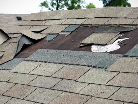 How to Deal with Roof Wind Damage in Maryland