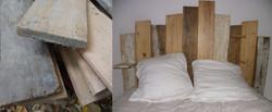 Création d'une tête de lit