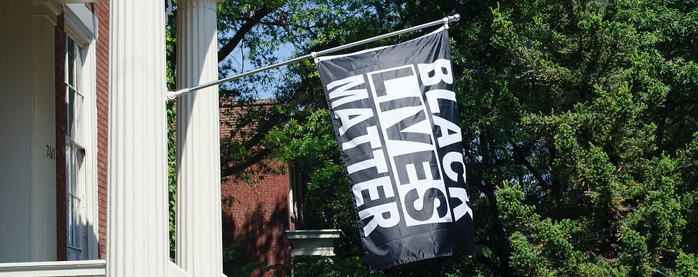 Bandeira Black Lives Matter