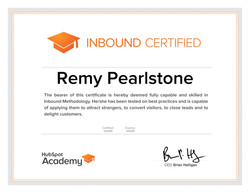 Remy Pearlstone Certified