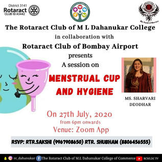 Menstrual Cup and Hygiene