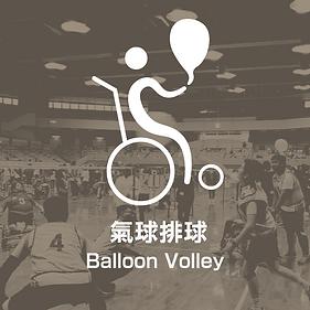 共融傷殘新興運動氣球排球奧運