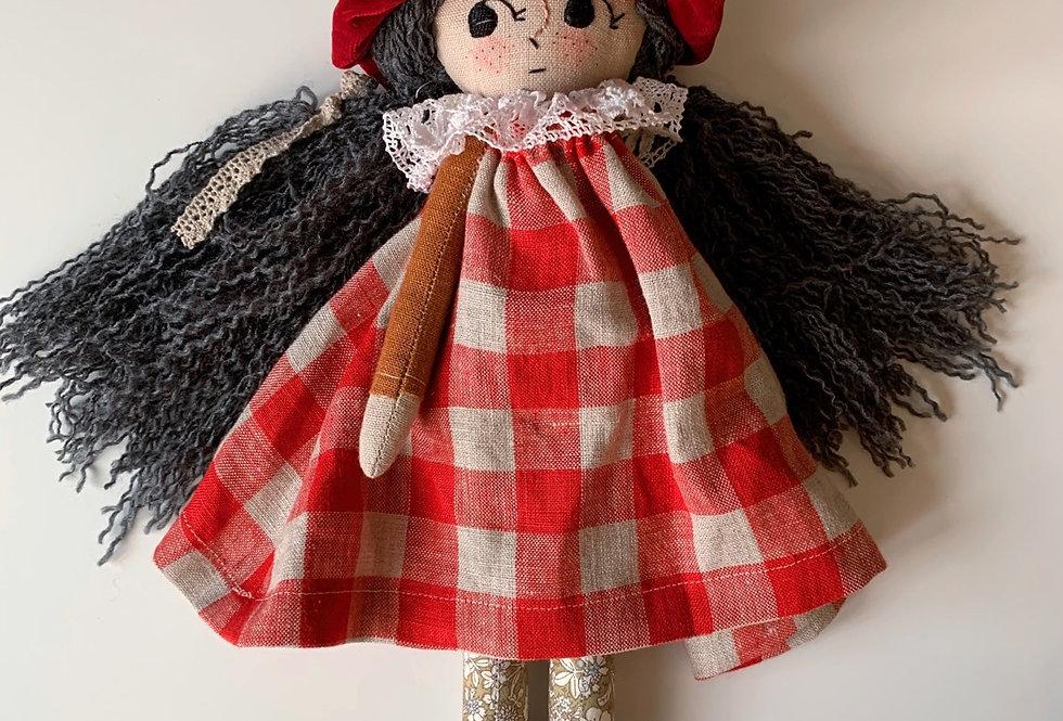 BRAMBLE Handmade Toadstool Doll
