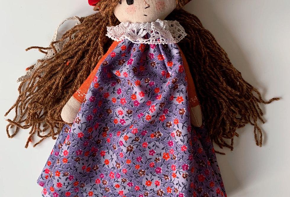 WREN Handmade Toadstool Doll