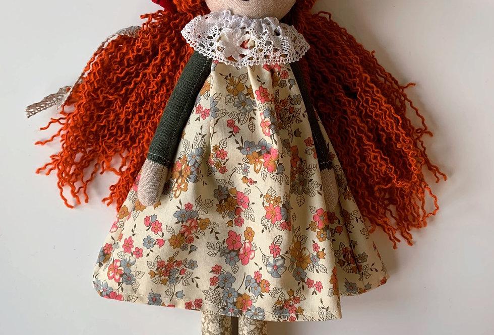 AMBER Handmade Toadstool Doll