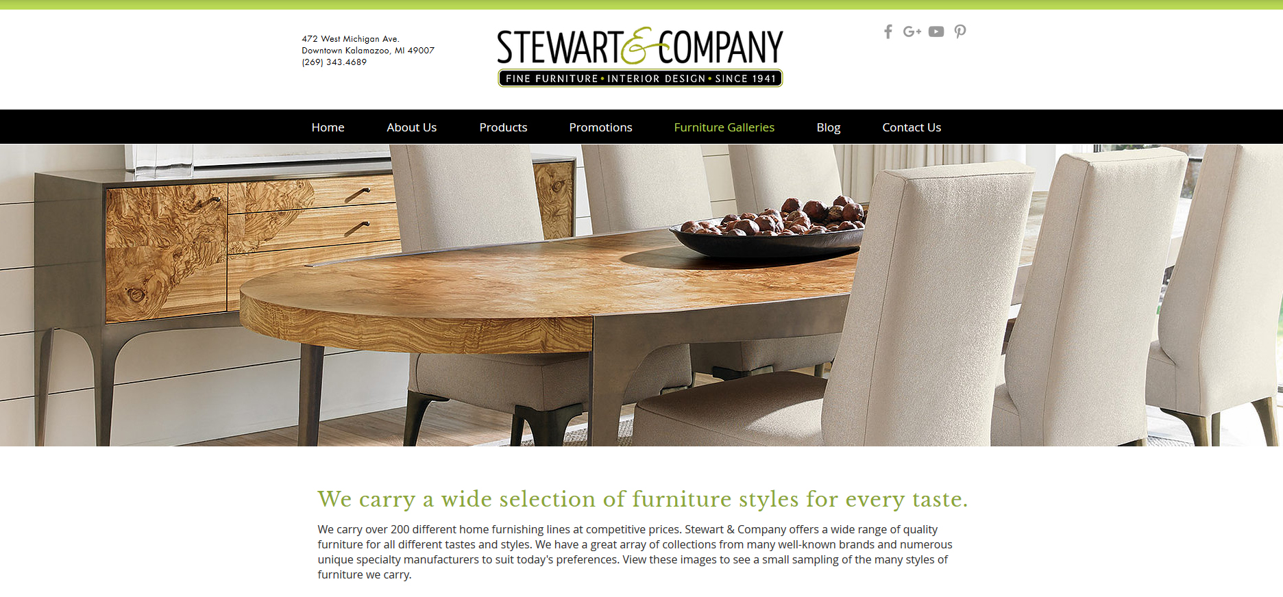 Welcome To Stewart And Company Fine Furniture Interior Design