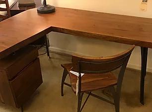 walnut-l-shaped-desk