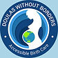 doulas without borders logo accessible birth care