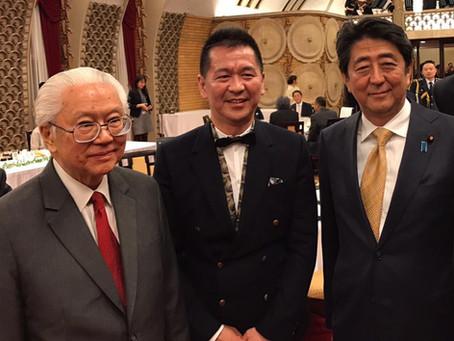 にっぽんの宝物プロデューサー羽根拓也、シンガポール大統領晩餐会に出席