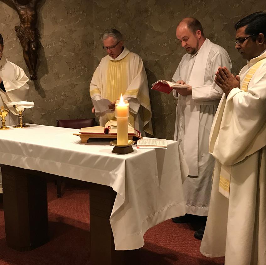 Mass at St Joseph Oratory