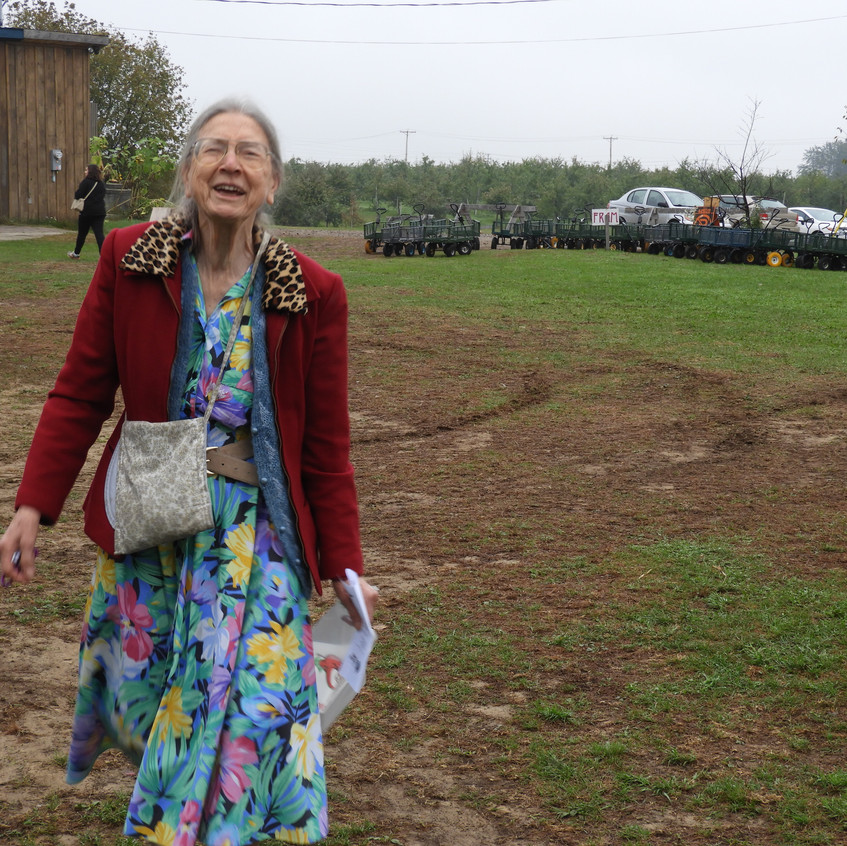 At the Apple Orchard (Eileen)