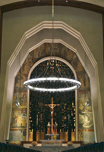 Inside St Joseph Oratory