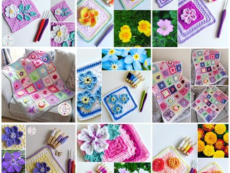 More Flower Squares