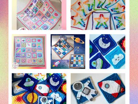 So many granny squares....