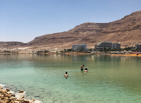 Dead Sea, Masada days through the eyes of Maxwell