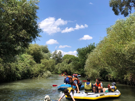 Rafting on the Jordan River... by Austin