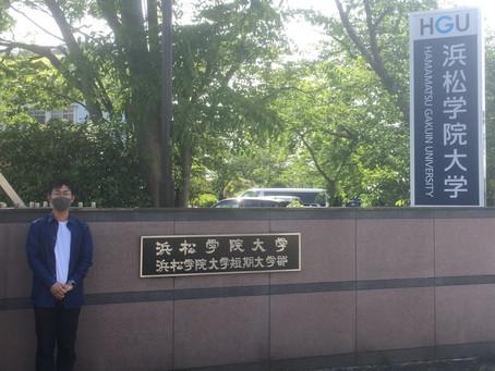 外部講師として浜松学院大学で講演させていただきました。
