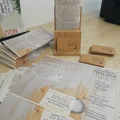 impression kraft recyclé & papier paille de blé