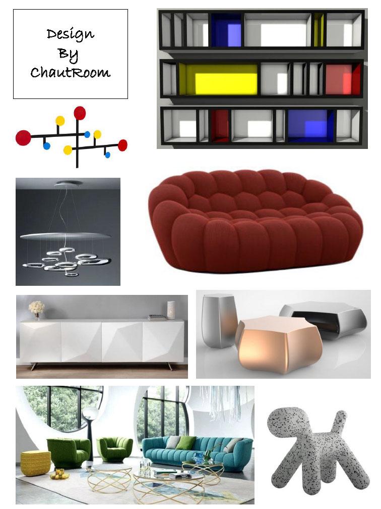planches de style design