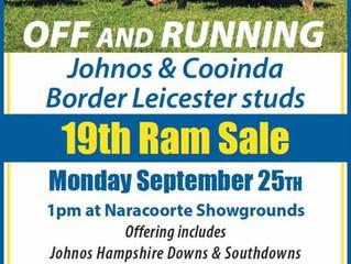 2017 Ram Sale - Cooinda & Johno's