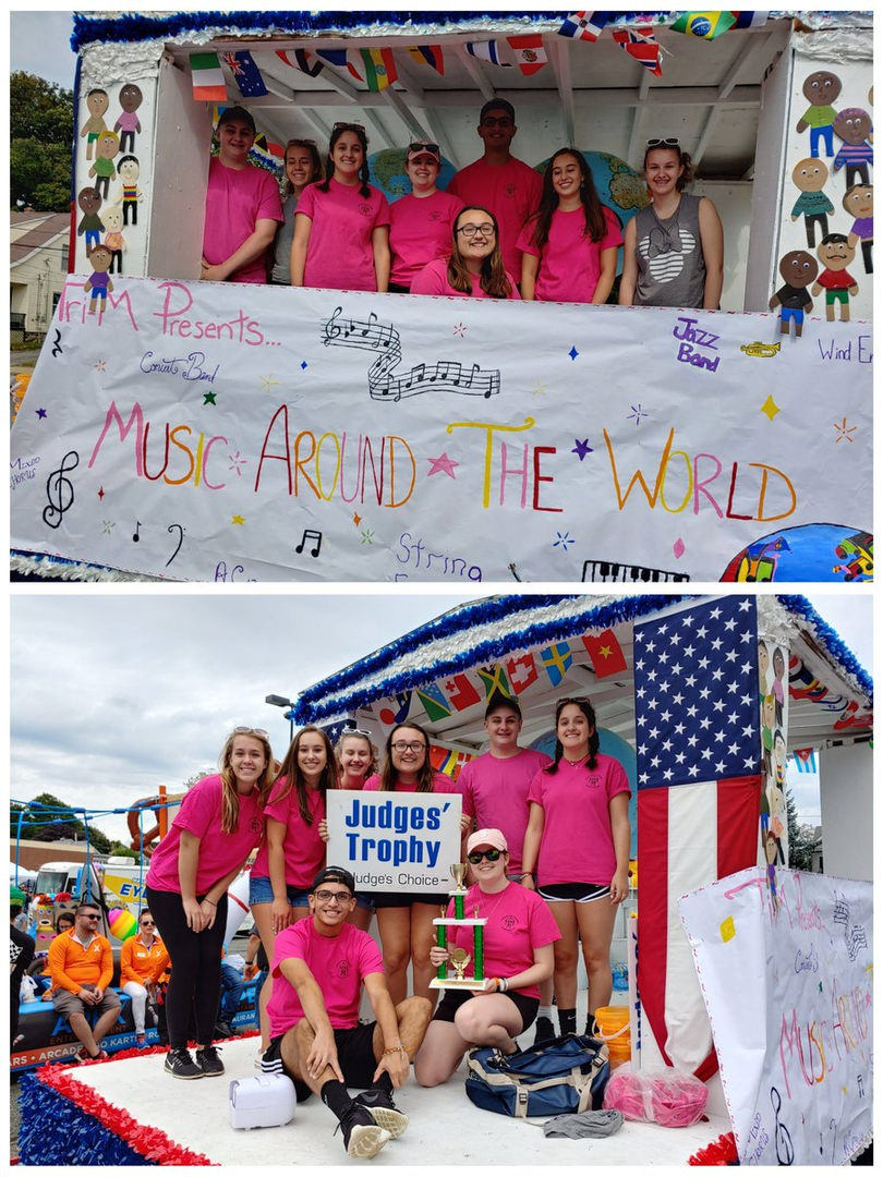 Labor Day Tri M  Parade Float 2019