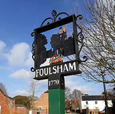 Foulsham village sign