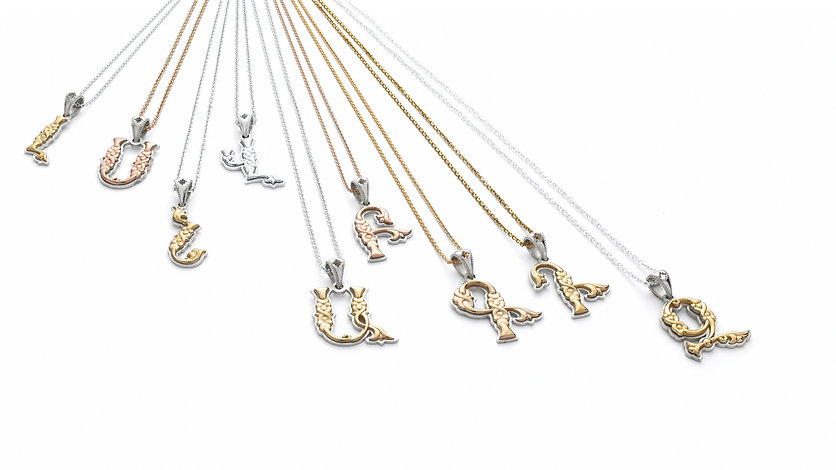 Armenian Letter Collection | Jewelry Design House