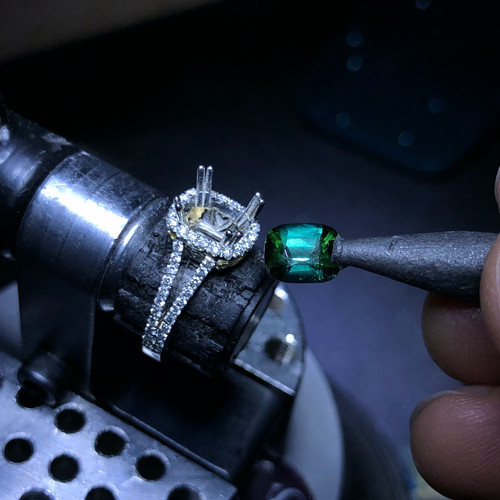 Custom Design Engagement Ring Process.jp