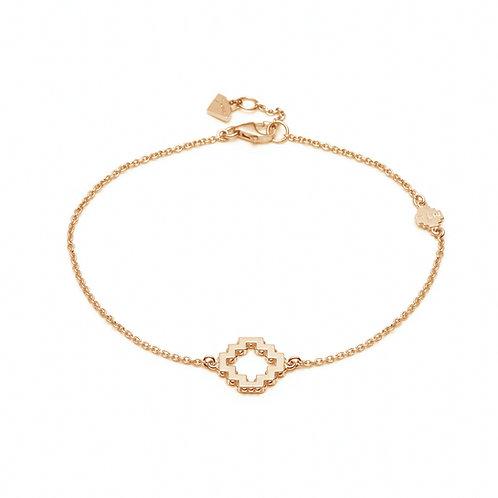 Medium Single Motif Bracelet in Yellow Gold